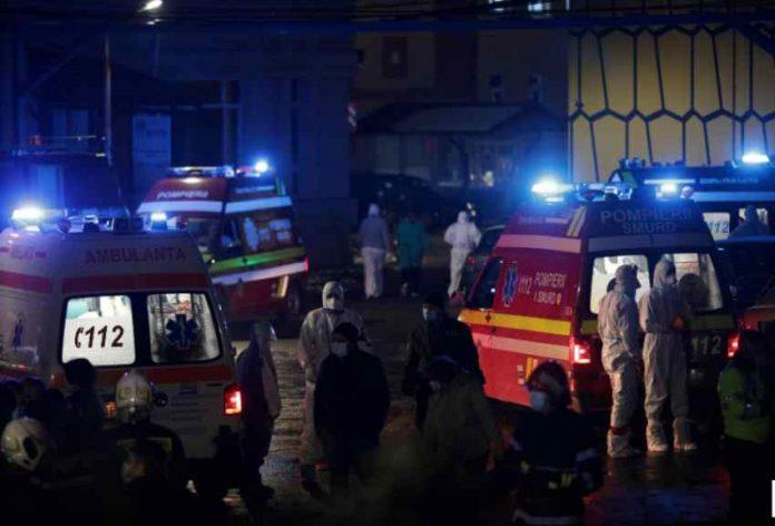 zjarr-ne-nje-spital-te-covid-19-ne-rumani,-kater-te-vdekur