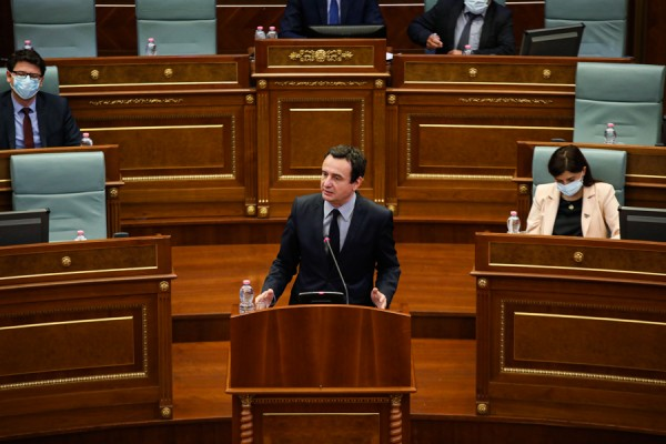 kurti-te-premten-raporton-para-deputeteve-per-dialogun-kosove-serbi